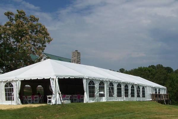 Frame tent rentals in Huntington WV