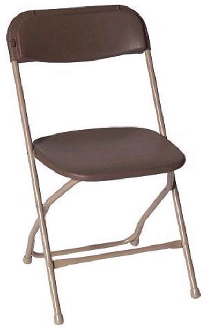 Where to find CHAIR FOLDING BROWN in Huntington