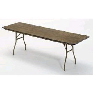 Where to rent TABLE BANQUET 6FT PLYWOOD in Charleston West Virginia, Summit KY, Ashland KY, Huntington WV, and Portsmouth OH