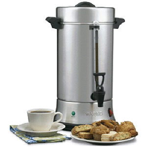 Where to rent STAINLESS COFFEE URN 100-CUP in Charleston West Virginia, Summit KY, Ashland KY, Huntington WV, and Portsmouth OH