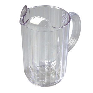 Where to find PITCHER WATER PLASTIC 60 oz. in Huntington