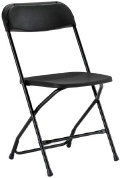 Rental store for CHAIR FOLDING BLACK in Huntington WV