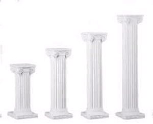 Where to rent COLONNADE COLUMN 72  WHITE in Charleston West Virginia, Summit KY, Ashland KY, Huntington WV, and Portsmouth OH