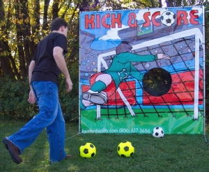 Where to rent SOCCER KICK   SCORE in Charleston West Virginia, Summit KY, Ashland KY, Huntington WV, and Portsmouth OH