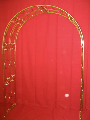 Where to find BRASS CATHEDRAL ARCH TRELLIS in Huntington