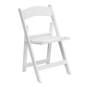 Where to find CHAIR RESIN WHITE in Huntington