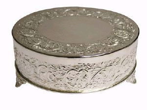 Where to find TRAY SILVER 20 RD.CAKE PLATEAU in Huntington