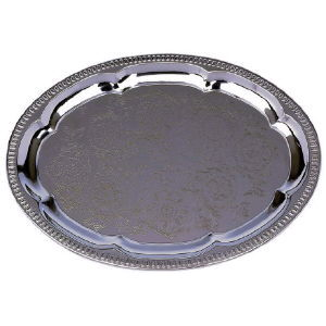 Where to find TRAY CHROME - PLATE 18  OVAL in Huntington