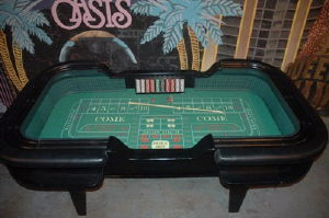 Where to rent CASINO CRAP TABLE in Charleston West Virginia, Summit KY, Ashland KY, Huntington WV, and Portsmouth OH