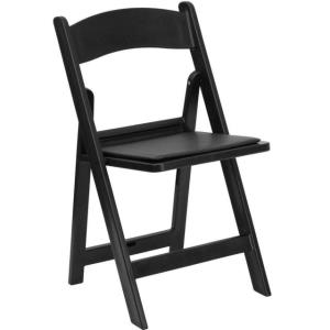 Where to find CHAIR RESIN BLACK in Huntington