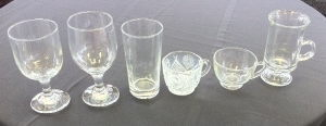 Where to find TABLEWARE GLASSES in Huntington