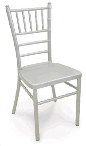 Where to rent CHAIRS CHIAVARI SILVER WOOD in Charleston West Virginia, Summit KY, Ashland KY, Huntington WV, and Portsmouth OH