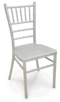 Rental store for CHAIRS CHIAVARI SILVER WOOD in Huntington WV