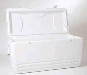 Where to find COOLER, WHITE 150-qt in Huntington