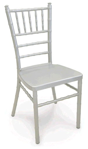 Where to find CHAIRS CHIAVARI SILVER ALUM in Huntington