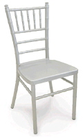 Rental store for CHAIRS CHIAVARI SILVER ALUM in Huntington WV