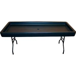 Where to find TABLE FILLnCHILL 6-ft BLACK in Huntington