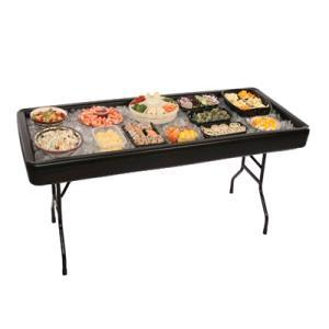 Where to find TABLE FILLnCHILL 4-ft BLACK in Huntington